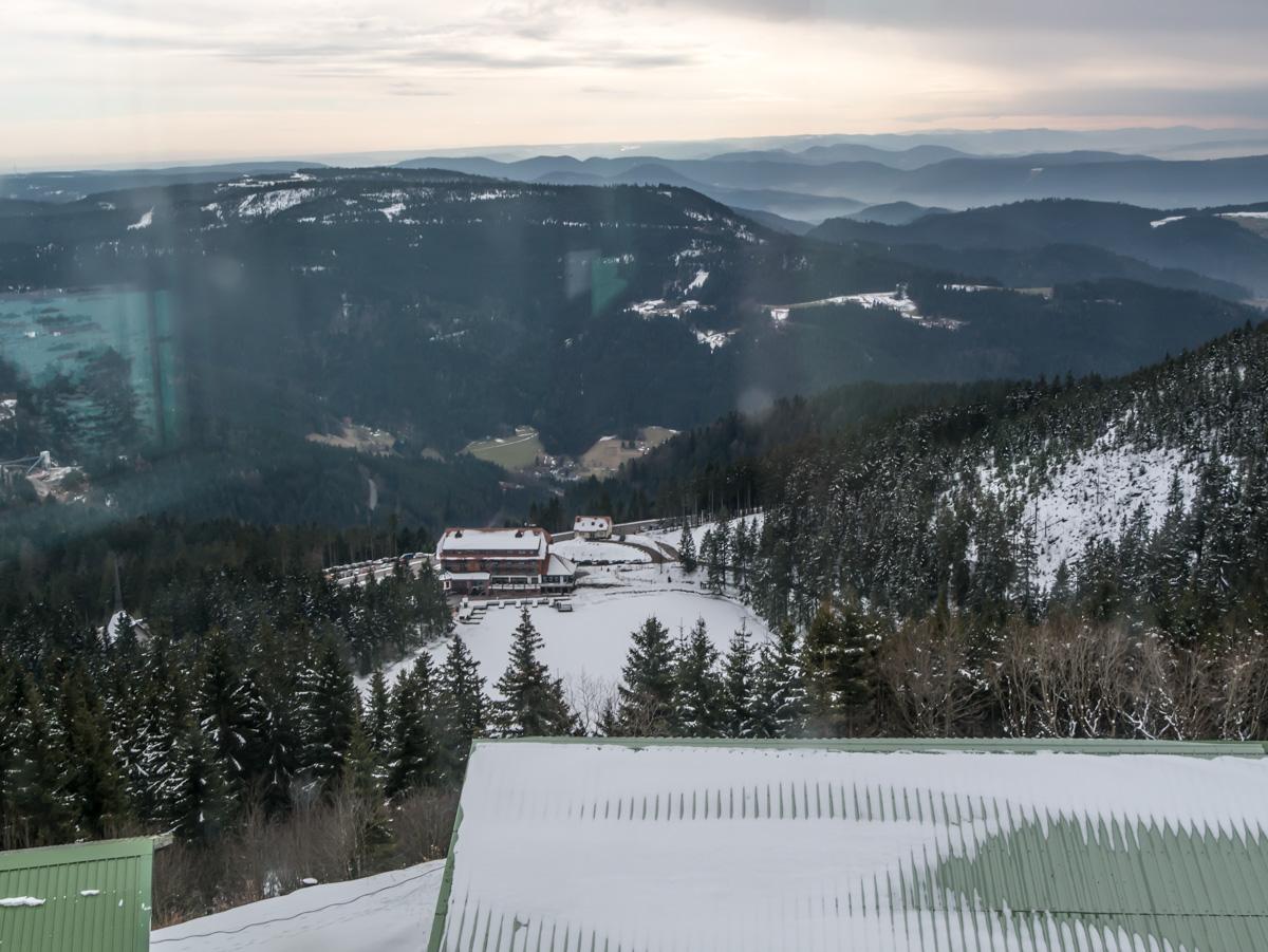 Mummelsee von der Hornisgrinde 1180 m